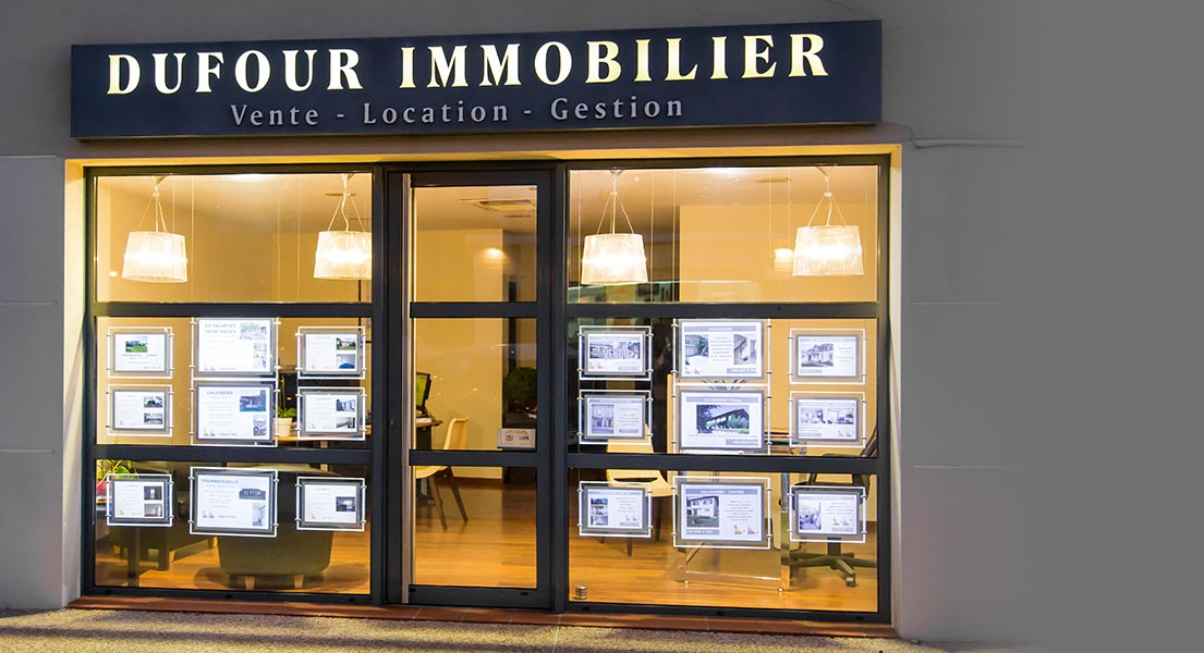 Dufour immobilier agence immobili re achat et location for Agence immo location